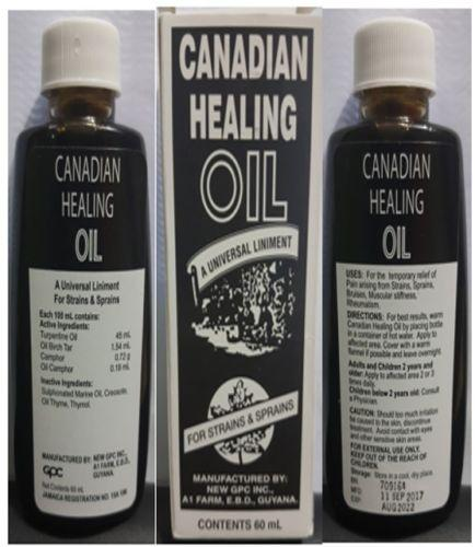 Canadian Healing Oil
