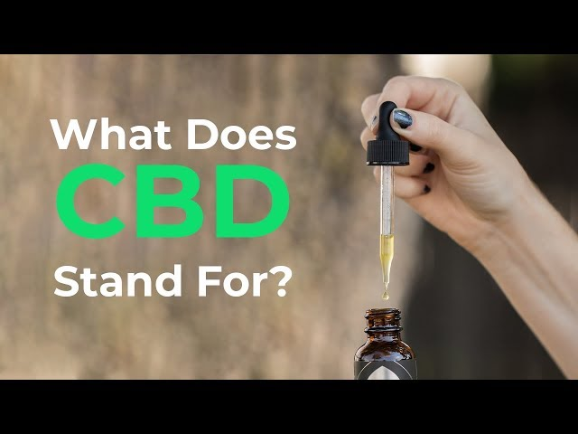 What Does Cbd Stand For In Hemp Oil