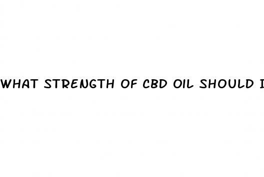 What Strength Of Cbd Oil Should I Take For Stroke Symptoms